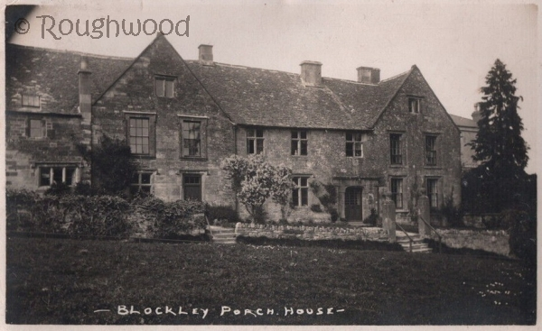 Blockley - Porch House