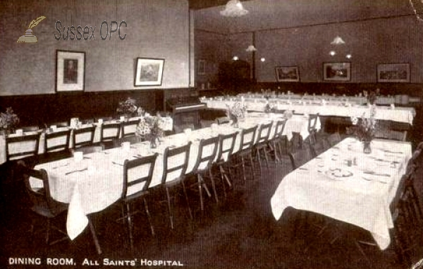 Eastbourne - All Saints Hospital - Dining Room