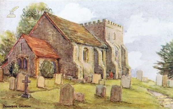 Bramber - St Nicholas Church